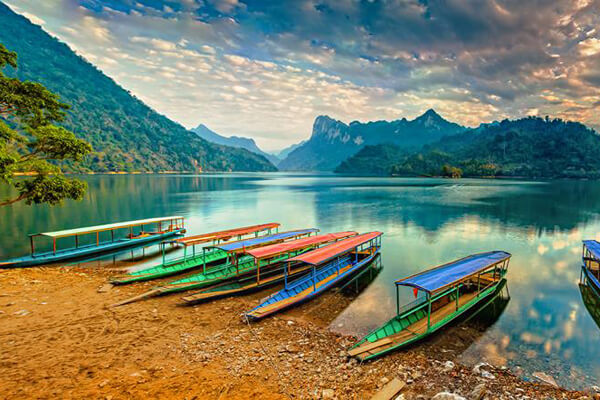 Ba Be Lake, Vacation in Vietnam