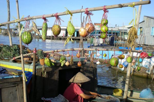 Cai Be Floating Market, Vietnam Tour Packages