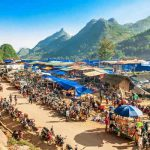 Can Cau Market, Vietnam adventure tours