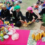 Havest worshpig of hai people in Muong Lo, Adventure Tours in Vietnam