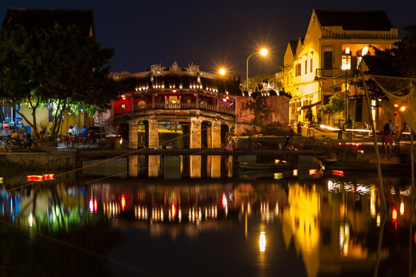 Japanese Covered Bridge, Vietnam Vacation Packages