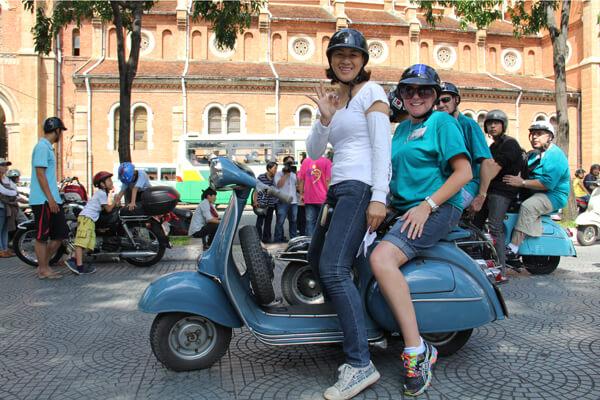 Vespa tour in Ho Chi Minh, Vietnam local tour package