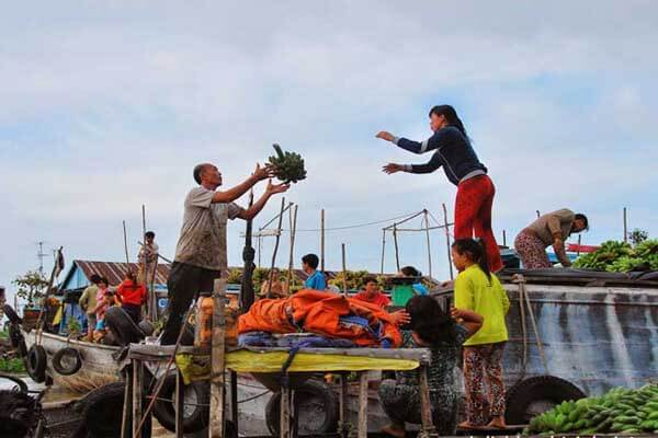 Cai Be Floating Market, Vietnam Tour Itinerary