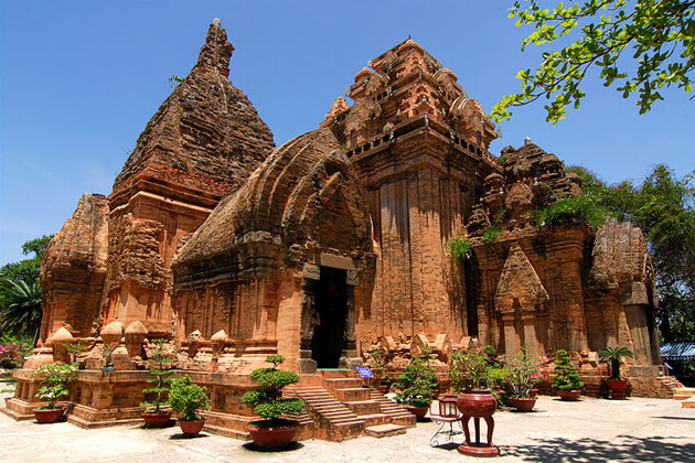 Cham Ponagar Towers in Nha Trang, Vietnam Family Tours