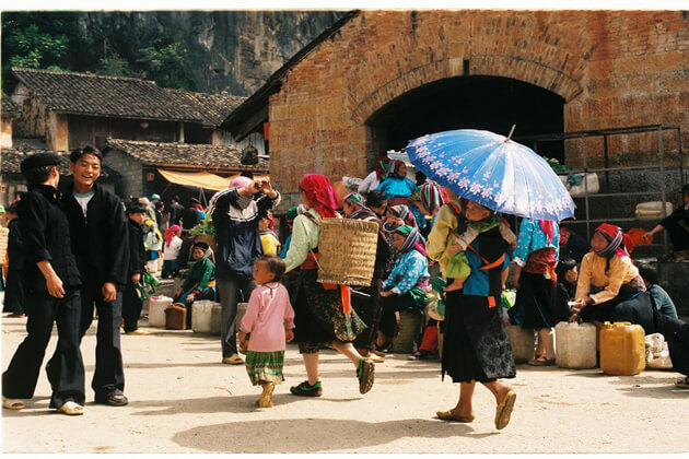Re Dao ethnic minority in Giang Ta Chai VIllage