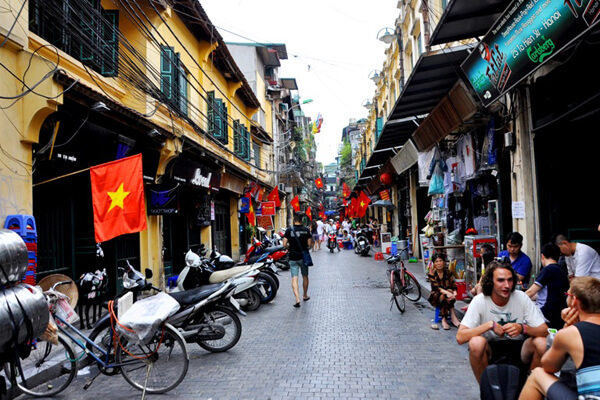Ha Noi Old Quater, Vietnam vacations