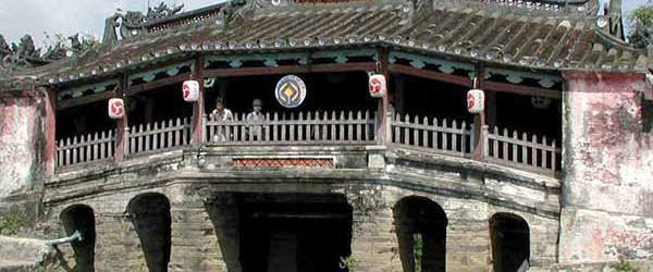 Japanese Covered Bridge is a symbol of Hoi An Ancient Town