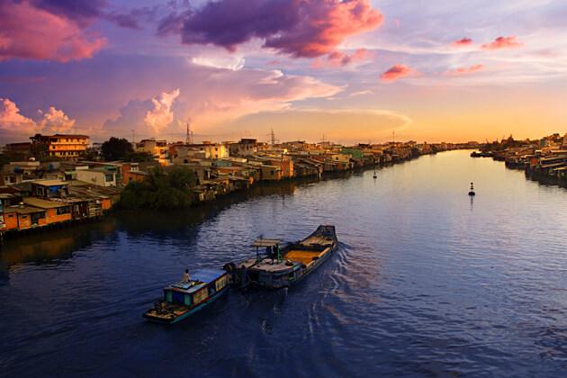 Mekong river, Vietnam tours vacations