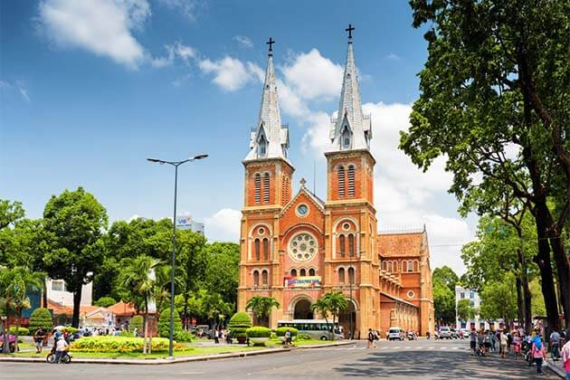 Notre Dame Cathedral, Family tour packages in Vietnam