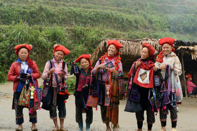 Red Dao Ethnic Group in Sapa, Vietnam Family Vacations