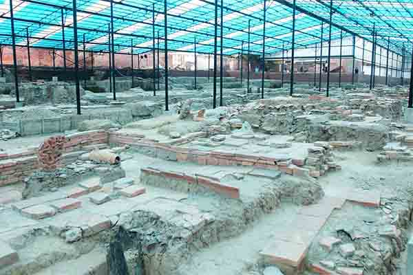 The archaeological area of the Imperial Citadel of Thang Long