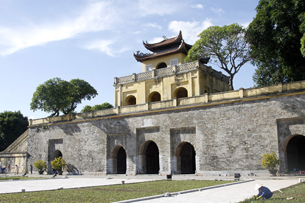 The main gate of the Imperial Citadel of Thang Long