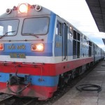 Thong Nhat train is the North - South train in Vietnam