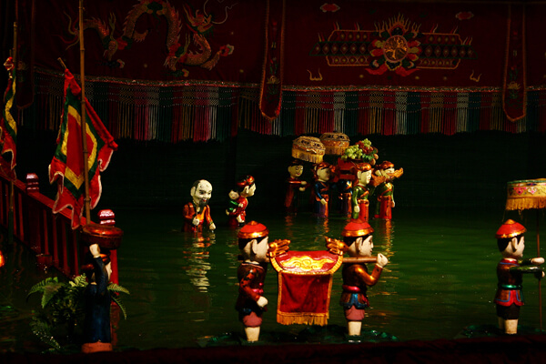 Water Puppet show, Vietnam holiday