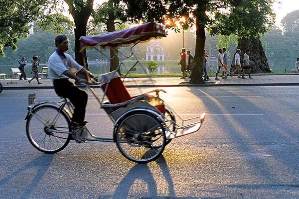Take a cyclo in Hanoi Old Quarter - Go Vietnam Tours