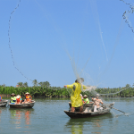 cash fisshing net in Hoi An