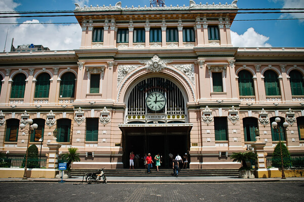 general post office, Ho chi Ming tours