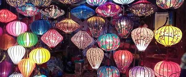 Lovely lanterns Hoi An night market