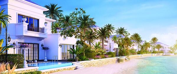 Sea-viewing villa of Cua Hoi resort
