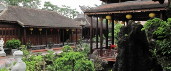The scene of Tinh Gia Vien - The garden house