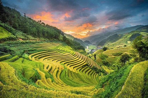 Sapa Valley in Autumn, Vietnam trips