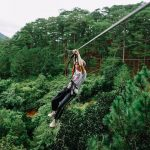 Da Lat Hight rope, Southern Tours in Vietnam