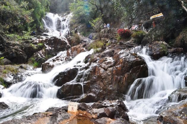 Da Lat waterfall, Vietnam Southern Tour Packages