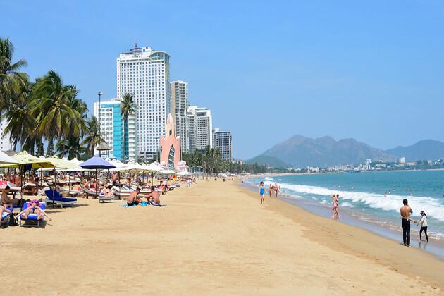 Nha Trang Beach, Southern Tour in Vietnam