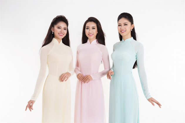 ao dai vietnamese traditional costumes for female