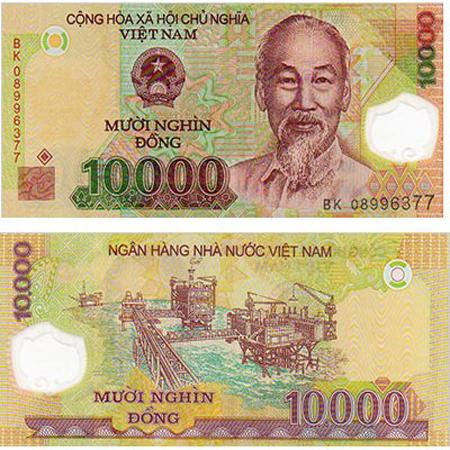 10000 Vietnam Dong