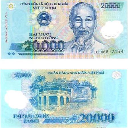 20000 Vietnam Dong