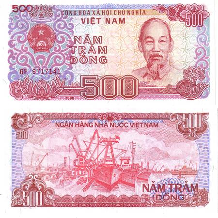 500 Vietnam Dong