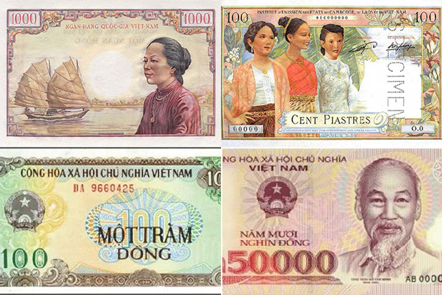 vietnam currency in the history