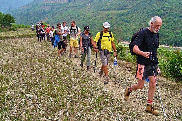 easy sapa trekking