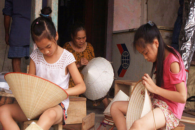 hat making village, Vietnam Packages