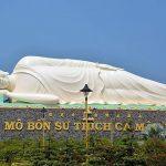 lying Buhhda pagoda, Vietnam Trips