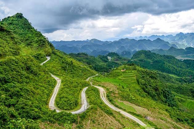 Biking in the north of Vietnam