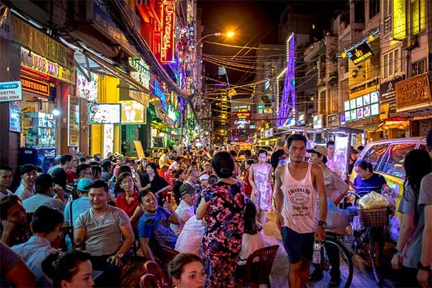 Bui Vien Street, Vietnam beach vacation