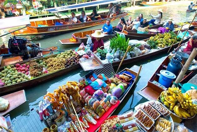 Cai Be Floating Market, Vietnam family vacations