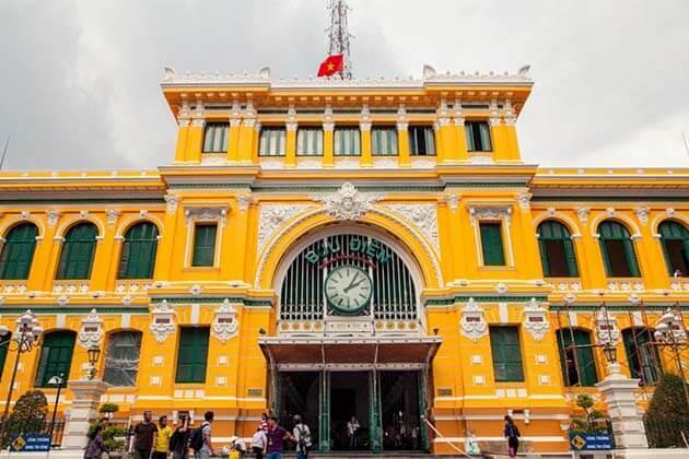 Sai Gon Post Office, Vietnam Vacations