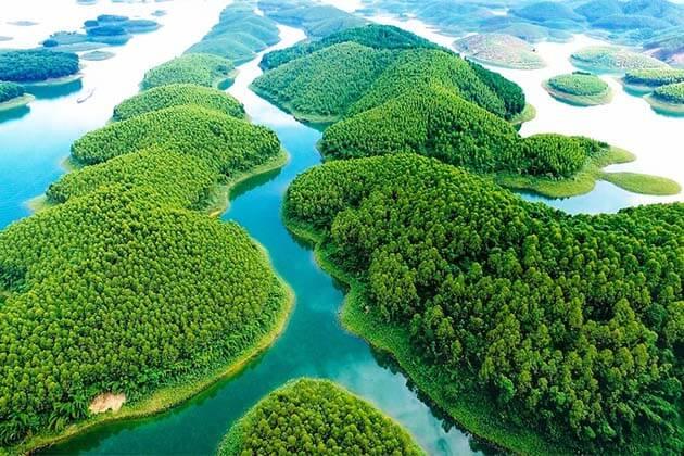 Thac Ba Lake, Adventure tour in Vietnam