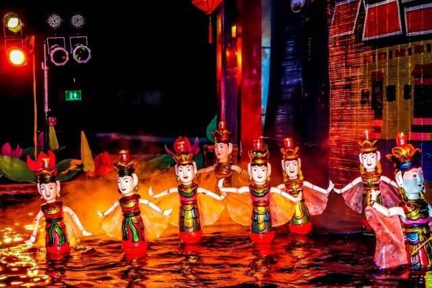 Water Puppet Show, Vietnam tours