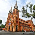 the Notre Dame Cathedral in Ho Chi Minh, Vietnam Tours vacation