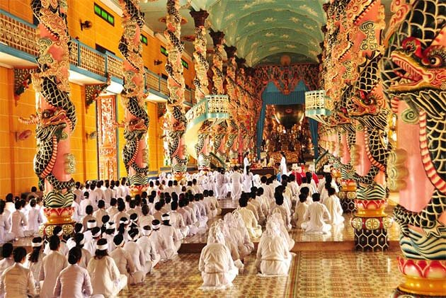 Cao Dai Temple, Ho Chi Minh Tours Day Trips