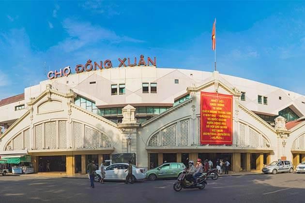 Dong Xuan Market, Hanoi Day Trips