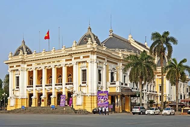 Hanoi Opera Housem, Tour in Hanoi