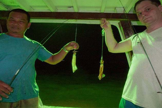 Squid Fishing in Halong, Vietnam Tours Vacations