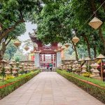 the temple of literature, Vietnam local tours