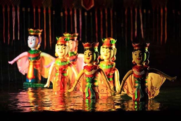 water Pupet Show, Vietnam Tours