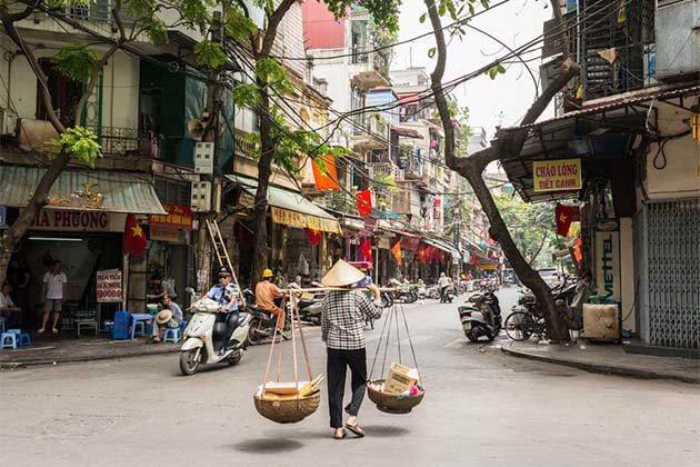 Hanoi Street, Vietnam Family Holidays